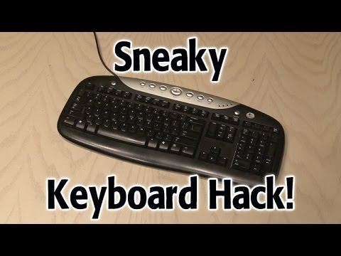 Sneaky Keyboard Hack!