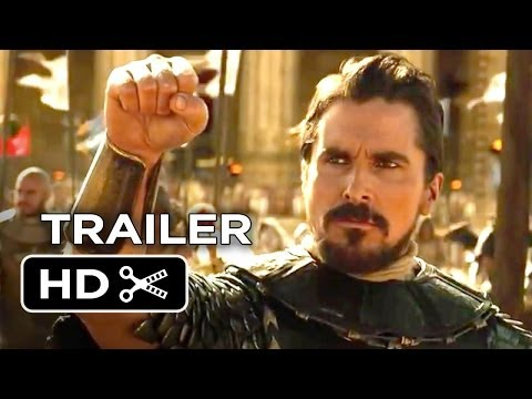 Exodus: Gods and Kings Official Trailer #1 (2014) - Christian Bale, Ridley Scott Epic Movie HD