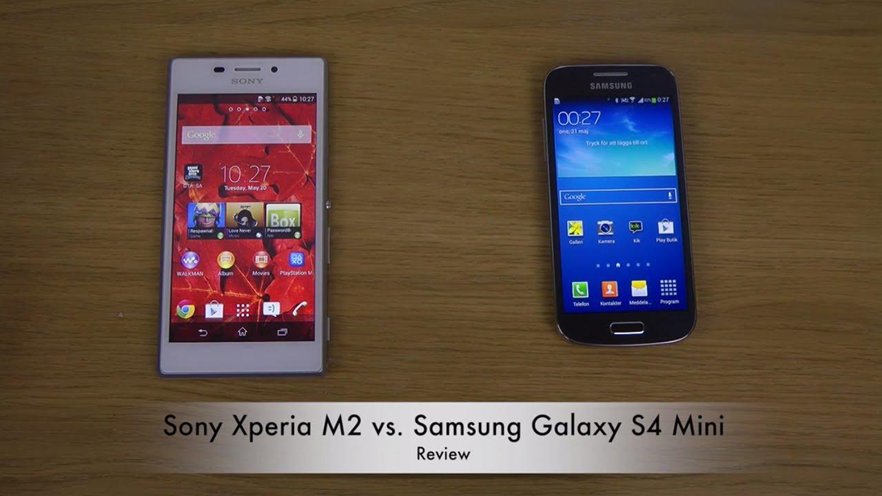 Sony Xperia vs Samsung Galaxy S4 Aqua M2