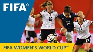 HIGHLIGHTS: Germany v. France - FIFA Women's World Cup 2015 - Duration: 2:43.
