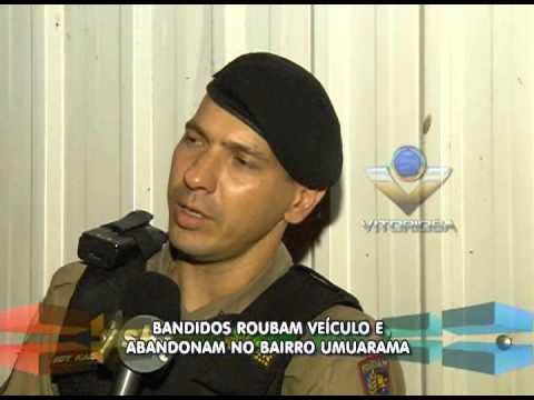 Bandidos roubam veículo e o abandona no Umuarama