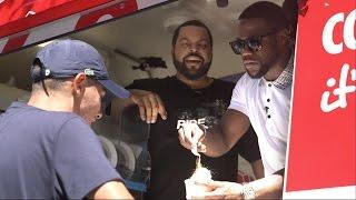 Ice Cube & Kevin Hart hijack Nova's ice cream van
