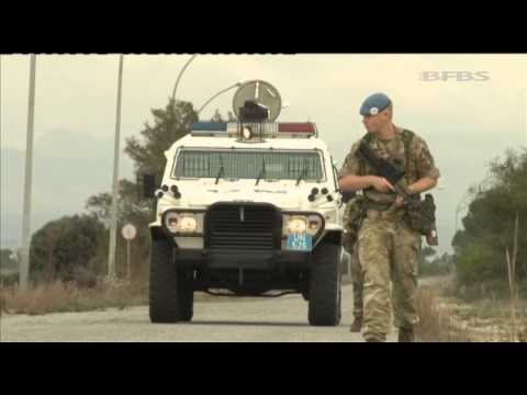 We Meet Soldiers on the Buffer Zone in Cyprus 05.03.14