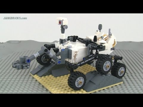 LEGO CUUSOO Mars Curiosity Rover 21104 set review!