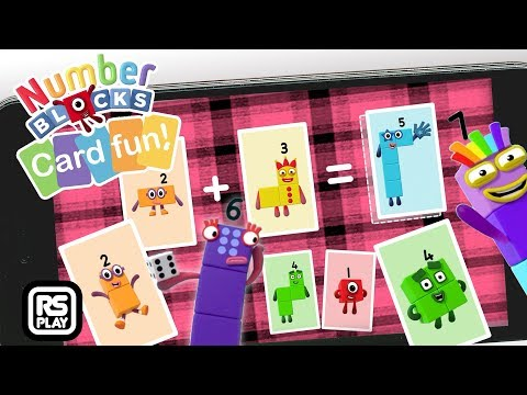 Numberblocks Snap, Match, Add & Minus with Number 10, 9, 8 & more Card Fun