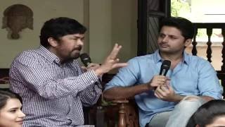 Posani Krishna Murali Satire on Trivikram Srinivas @ A Aa Movie Team Interview