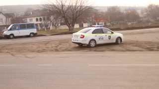 Poliția patrulare de la Anenii Noi nu știe regulile de circulație