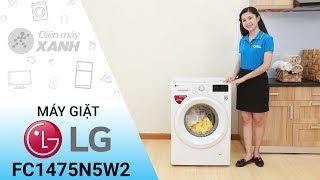 Máy giặt LG Inverter FC1475N5W2 - Sạch bong vết bẩn khó ra   Điện máy XANH