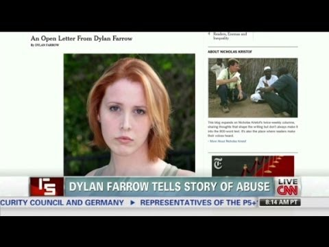 Dylan Farrlow tells story of abuse