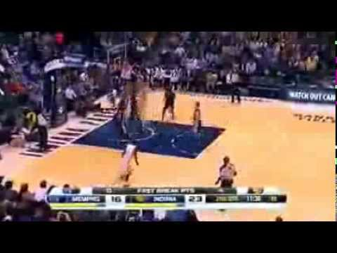 Memphis Grizzlies vs Indiana Pacers  1st Half Highlights  November 11, 2013