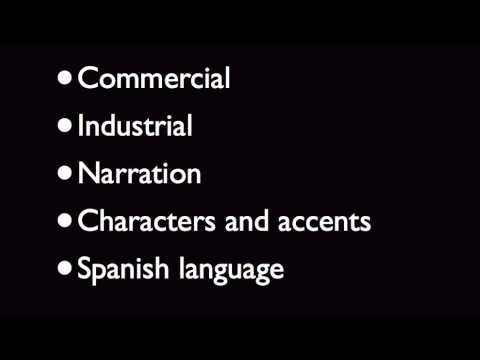 [Image: record your English or Spanish voiceover]