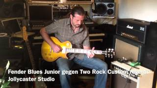 Fender Blues Junior Vs. Two Rock Custom Reverb