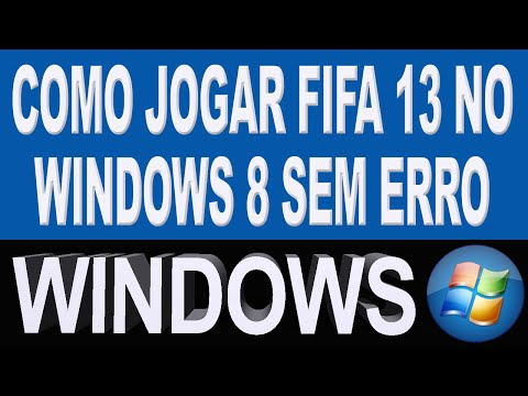 Como rodar fifa 13 no windows 8 sem problemas