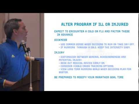 2014 Boston Marathon Clinic 1 - Part 1