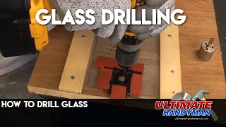 Drilling glass | spear point glass drill