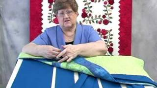 AQS Quilt Show 4-Adding A Sleeve To Your Quilt