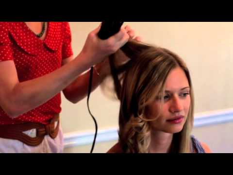 Hairdresser on Fire  Tutorial   Style Hair with Waves Using a Flat Iron