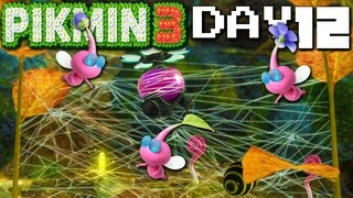 Pikmin 3: Winged Pik Peril DAY 12 (Nintendo Wii U HD