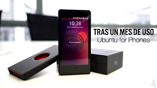 Ubuntu for Phones, análisis tras un mes de uso
