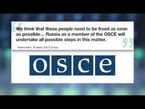 EASTERN UKRAINE: Pro-Russian separatists vow to keep OSCE monitors