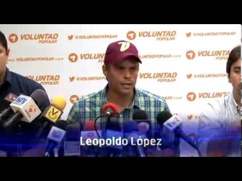 Leopoldo López: Maduro es un saqueador