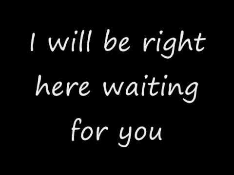 here by me lyrics:
