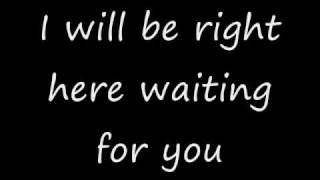 I Will Be Right Here Waiting For You Richard Marx With