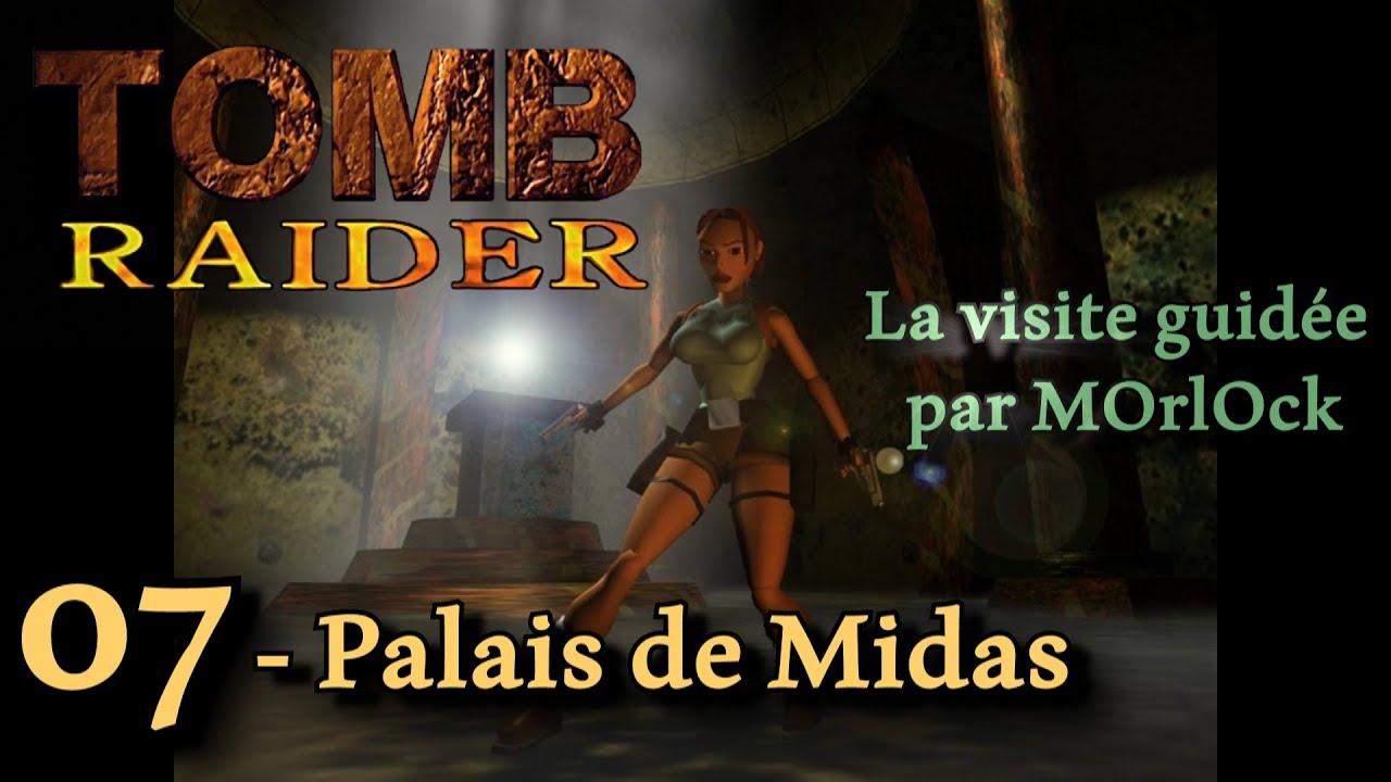 Tomb Raider 1 - 07 - Palais de Midas [Solution] [No Meds] fr