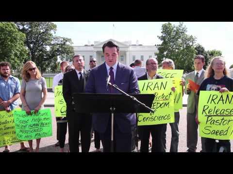 Jordan Sekulow at Pastor Saeed Prayer Vigil Reads Lindsey Graham's Letter