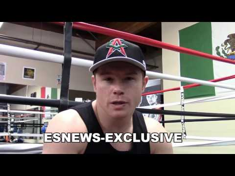 Canelo on GGG vs Kell Brook GOT A MESSAGE FOR GGG - ESNEWS BOXING