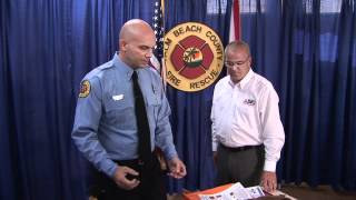 All County DKI Donates Oxygen Masks to Palm Beach County FD