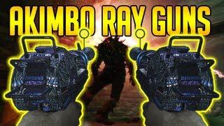 AKIMBO RAY GUN GLITCH! Mob Of The Dead Zombies BO2 (Call