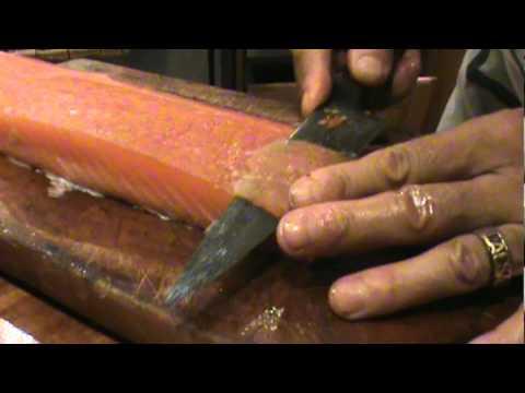 C mo preparar salm n youtube for Como cocinar salmon