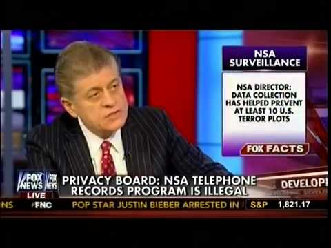 Privacy Board  NSA Telephone Record Is illegal   Judge Andrew Napolitano On The real Story