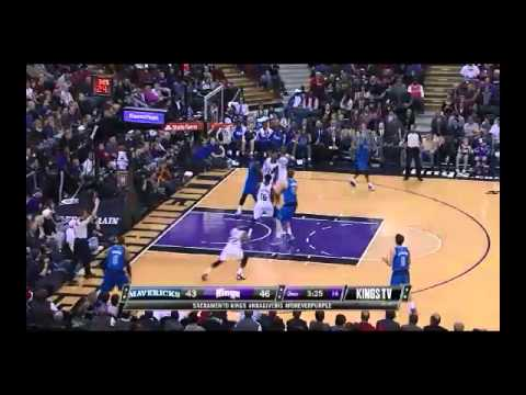 NBA CIRCLE - Dallas Mavericks Vs Sacramento Kings Highlights 9 Dec. 2013 www.nbacircle.com