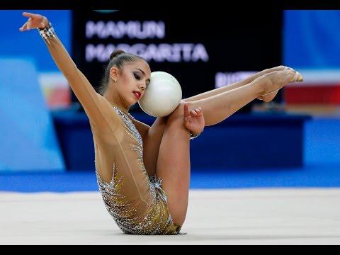 гимнастка разделась на тренировке видео