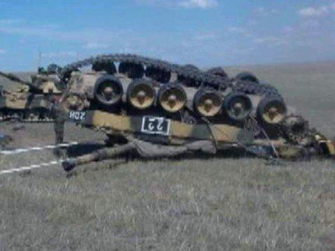 Tanques y Blindados: Accidentes...