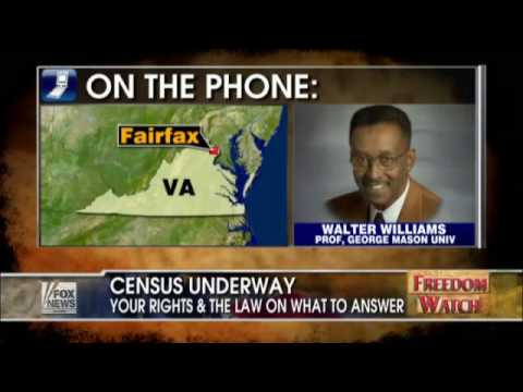 Walter E. Williams on the Census