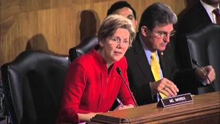 Elizabeth Warren: Too Big to Fail has become Too Big for Trial