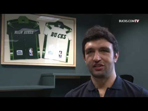 Zaza Pachulia - Milwaukee Bucks Exclusive Interview