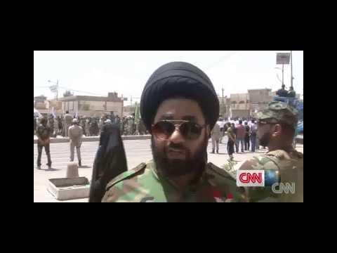 Iraq crisis Shia militia show of force raises tensions