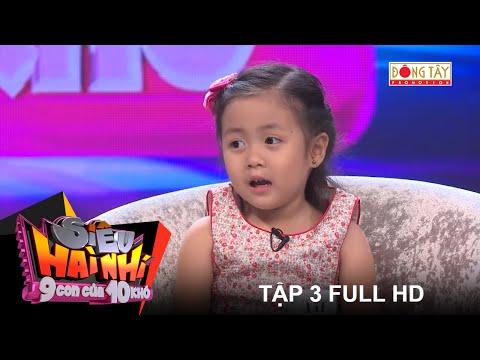SIÊU HÀI NHÍ - 9 con của 10 khó Trường Giang | TẬP 3 FULL HD (06/08/2016)