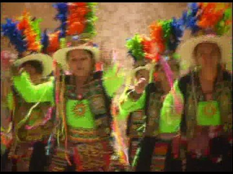 Tinkus, dance originary of Bolivian