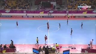 Portugal Vs Japan 2012 FIFA Futsal World Cup