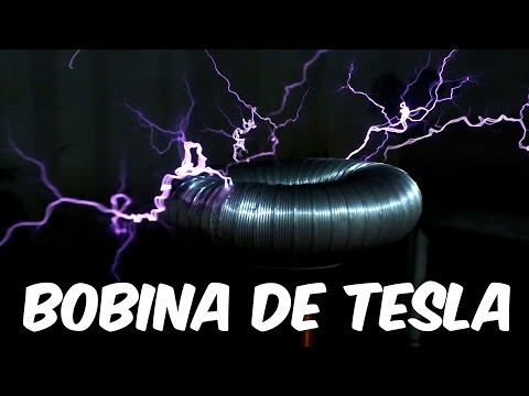 Bobina de Tesla, a máquina de fazer raios (Boravê)