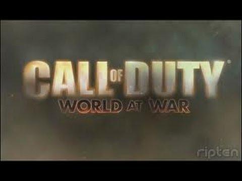 "Pazaiskime Call of Duty - World at War 4 dalis ""DEKIT"""