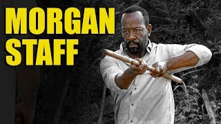 MORGAN'S STAFF TESTED! The Walking Dead in REAL LIFE