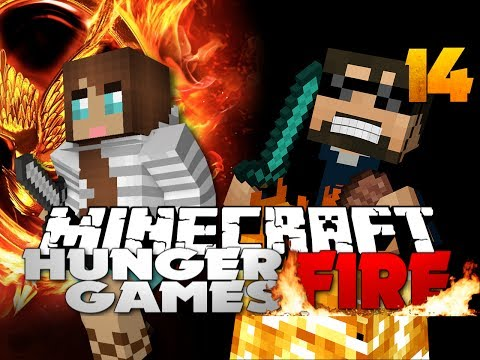 Minecraft Hunger Games Catching Fire 14 - I PLAYED WITH A GIRL, lol