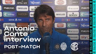 "HELLAS VERONA 2-2 INTER | ANTONIO CONTE EXCLUSIVE INTERVIEW: ""We need to improve"" [SUB ENG]"