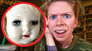 Haunted Doll UPDATE! (you guys won't believe this..)